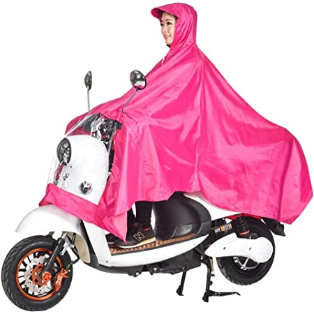 Outdoor Waterproof Jackets,Cycling Rain Poncho,Waterproof Rain Poncho, Unisex Poncho Outdoors Bike Ebike Motorcycle Scooter Cycling Jacket Raincoat Cape,Size XXXXL
