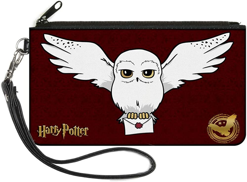 Buckle-Down Women's Standard Zip Wallet Harry Potter Large, 8