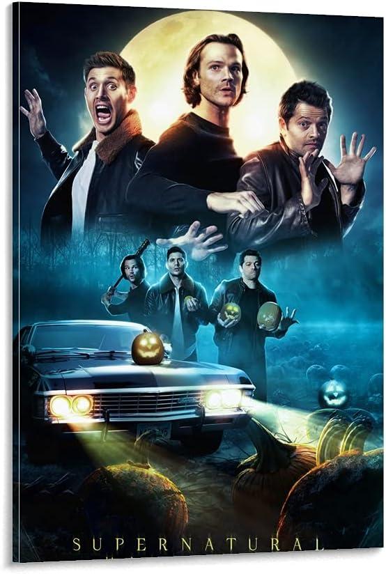 woplmh Movie Poster Luxury Supernatural Pai Decorative 55% OFF Halloween