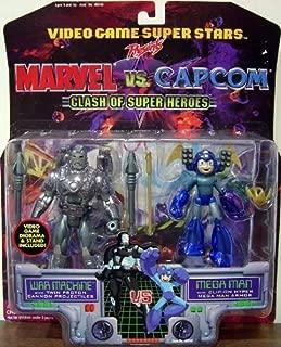 Video Game Super Stars Marvel Vs. Capcom War Machine Vs. Mega Man Action Figures