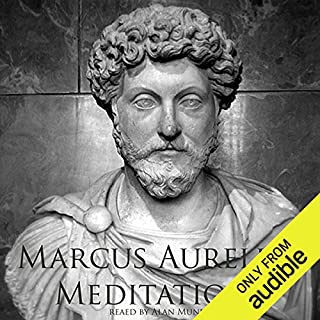 Meditations of Marcus Aurelius                   By:                                                                                                                                 Marcus Aurelius                               Narrated by:                                                                                                                                 Alan Munro                      Length: 5 hrs and 39 mins     1,383 ratings     Overall 3.9