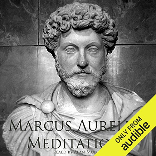 Meditations of Marcus Aurelius audiobook cover art