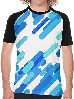 Men's Baseball T-Shirt Christmas Seamless With Bear Short Sleeve Casual Printed Raglan Baseball Tee For Sports Gym Workout