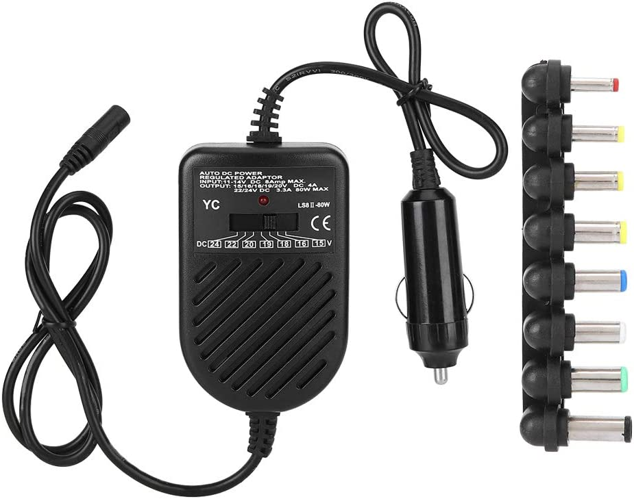 Lowest price challenge Zhjvihx Car Laptop Charger Voltage Adjustable D Genuine Free Shipping Output