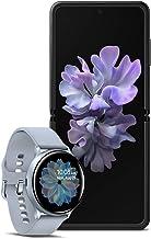 $1592 » Samsung Galaxy Z Flip Factory Unlocked 256GB, Mirror Black with Galaxy Watch Active2 W/Enhanced Sleep Tracking Analysis,Silver