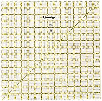 Omnigrid 15x15 Grid mat 15  x 15  Clear