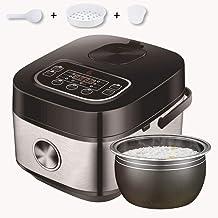 JSMY Cuiseur à Riz électrique avec cuillère à Riz,Cage à Vapeur,Tasse à mesurer,Peut Cuire du Porridge,gâteau,Riz Multi-Gr...
