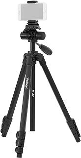 Velbon スマホ三脚 M47スマートフォンセット 4段 レバーロック 全高155cm 脚径20mm 小型 フリュード雲台 クイックシュー対応 アルミ脚 500984