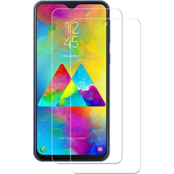 POOPHUNS 2-Unidades Cristal Templado Samsung Galaxy M20 / Galaxy ...