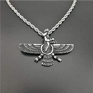 Fait Main Argent Sterling 925 Perse Persia Farvahar farovahar zoroastrienne Ring