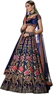 adb5845937 Raj Shree Lehenga Designer Indien Exclusif Lehenga Choli Semi-Cousu pour Le  Parti des Femmes