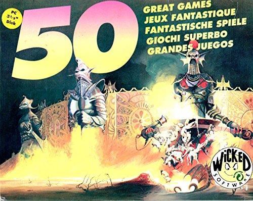 50 Fantastische Spiele - Wicked Software [1991] [PC-MS-DOS]