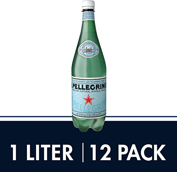 S Pellegrino Sparkling Natural Mineral Water 33 8 Fl Oz Pack Of 12