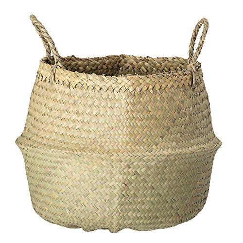 Bloomingville Seegras Korb Wäschekorb/Handarbeit