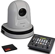 Panasonic AW-HE40HK PTZ Camera with HDMI Output (White) with Panasonic Remote Camera Controller