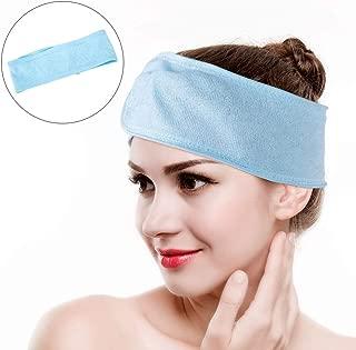 Facial Spa Headband, Soft Terry Cloth Headband, for Washing Makeup Shower Spa Mask and Sport