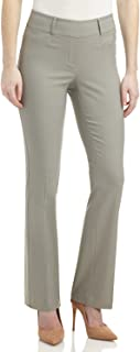 Rekucci Women's Ease in to Comfort Fit Barely Bootcut Stretch Pants