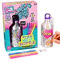 Just My Style Your Decor Color Your Own Water Bottle By Horizon Group Usa, DIY Bottle Coloring Craft Kit, BPA Free Aluminum 16.9fl oz Drinking Water Bottle, Decorate Using Colorful Markers & Gemstones from Horizon Group