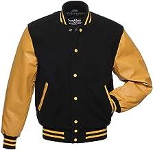 Best black and gold letterman jacket Reviews