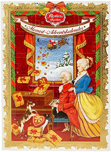 Reber Mozart-Adventskalender, 1er Pack (1 x 350 g)