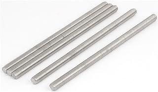 M10-1.5 Thread Size Class 4.6 Steel Fully Threaded Rod Left Hand Threads 1 m Length
