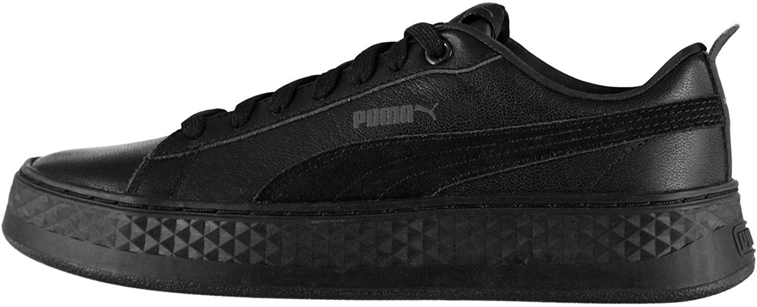 Official Puma Smash Platform Trainers Womens Athleisure Sneakers shoes Footwear