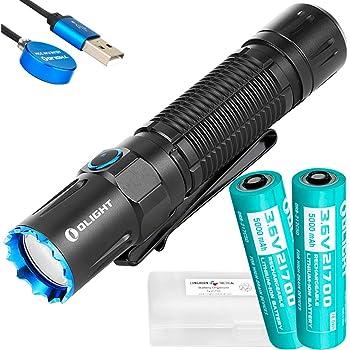 Olight M2R Warrior Pro Patriotic 1800 Lumen Flashlight Adjustable Hard Holster