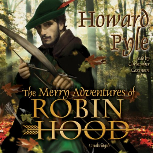 『The Merry Adventures of Robin Hood』のカバーアート