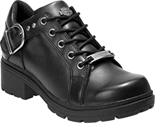 Harley-Davidson Women's Rovana 3-Inch Black Casual Ankle Boots D84407