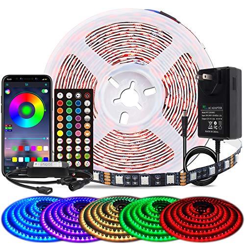(Diskon 15%) Lampu Strip Led Berubah Warna RGB dengan Remote $ 16.97