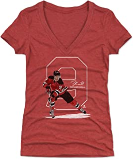500 LEVEL Taylor Hall Women's Shirt - New Jersey Hockey Shirt for Women - Taylor Hall Number