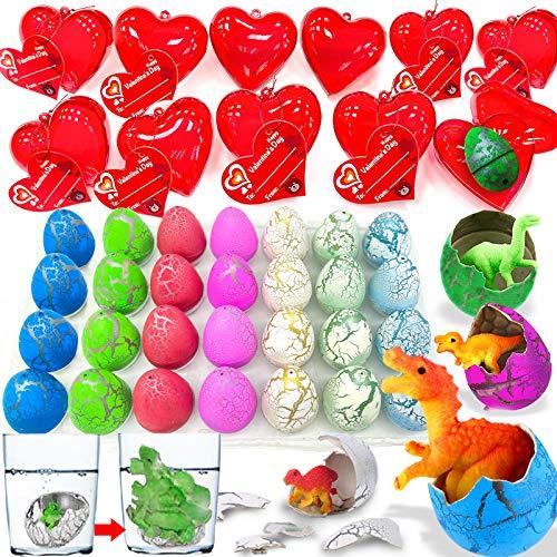 28 Pack Kids Valentines Dino