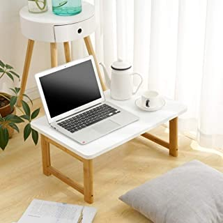 XYXK LAPTOP STAND Lap Standing Desk for Bed and Sofa Folding Breakfast Serving Coffee Tray Portable Notebook Stand Reading...