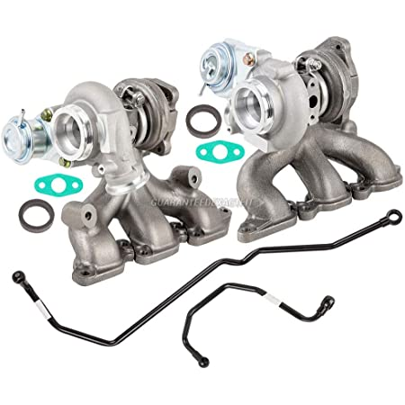 BuyAutoParts 40-8134520 New BorgWarner Turbo Turbocharger w//Install Kit For VW Jetta GTI Tiguan Eos New Beetle Passat CC Audi A3 Q3 TT 2.0T CCTA