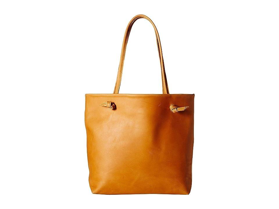 ABLE Rachel Tote (Cognac) Handbags