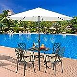 <span class='highlight'>furniture</span>-<span class='highlight'>uk</span>-<span class='highlight'>shop</span> 2.7m Umbrella Patio Outdoor Party Garden Sunshade Parasol Cream