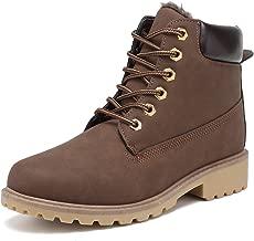 حذاء KARKEIN للكاحل للنساء ذو كعب منخفض ومقاوم للمياه في الشتاء
