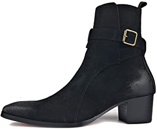 Dress Boot for Men Leather Chukka Designer Boots Casual...