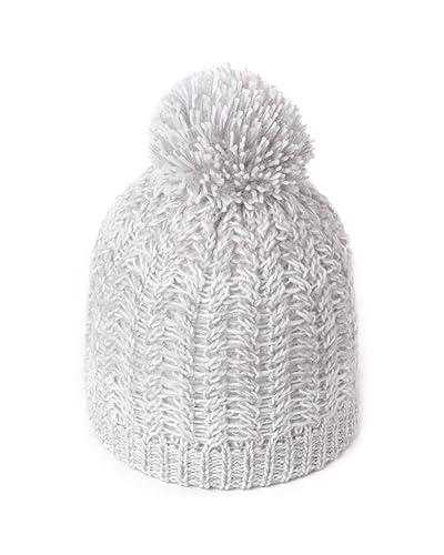 71a6c1bc7 Knit Hat Pom Pom  Amazon.com