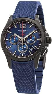 Longines Conquest V.H.P. Perpetual Chronograph Quartz Blue Dial Men's Watch L37172969
