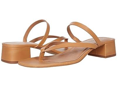 Madewell Joelle Bare Heel Slide in Leather