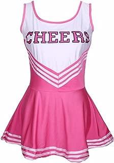 Women's Cheerleader Costume Musical Uniform Cosplay Dress