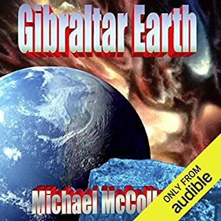 Gibraltar Earth audiobook cover art