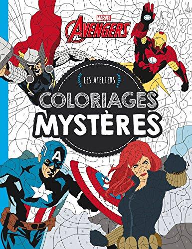 Avengers, LES ATELIERS MARVEL - COLORIAGES MYSTERES (HJD ATELIERS)