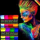 Best Glow In The Dark Body Paints - GLOW MAGIC Neon UV Body Paint Set – Review