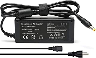 Pavilion Charger, AC 65W 4.8x1.7mm Tip Two-Stage Design Power Adapter for HP Pavilion DV2000 DV4000 DV5000 DV6000 DV8000 DV9000 PA-1650-32HA Laptop Notebook PC