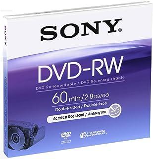 Sony 8cm Double-Sided DVD-RW with Hangtab - Single