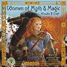 Women of Myth & Magic 2017 Fantasy Art Wall Calendar