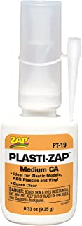 Pacer Technology (Zap) Plasti-Zap Adhesives, 1/3 oz
