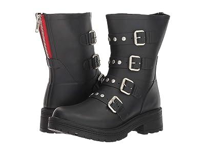 Steve Madden Thunder Rain Boot (Black) Women
